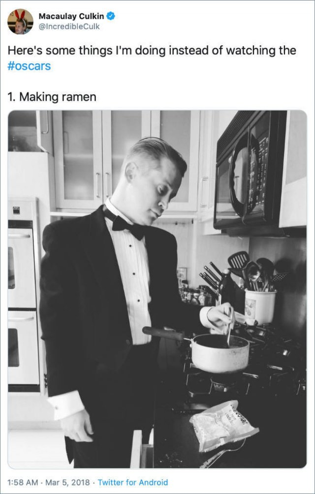Tweets About Macaulay Culkin (28 pics)