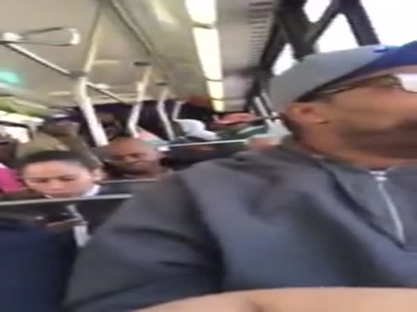 Guy Stands Up For A Wheelchair Passenger And The Bus Driver