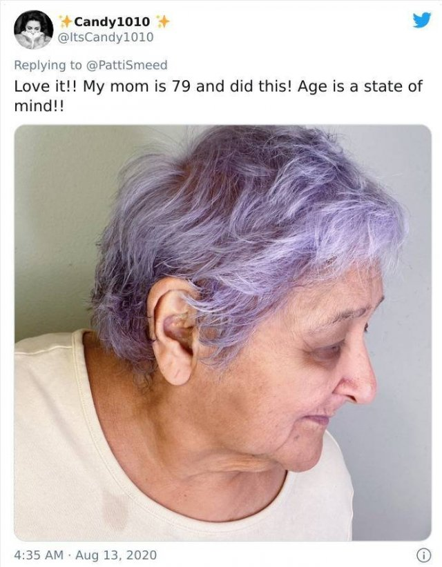 Old People Share Their Unusual Hairstyles (32 pics)