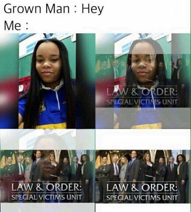 'Law & Order: SVU' Memes (29 pics)