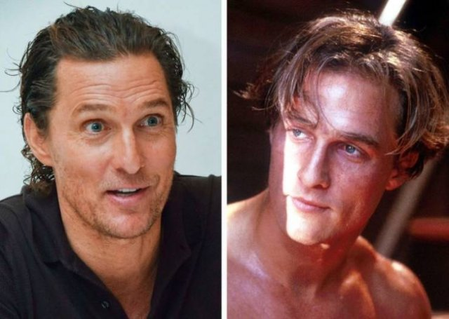 Actors: At The Young Age And Now (23 pics)