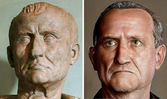 Digital Reconstruction Of Roman Emperor Faces (30 pics)