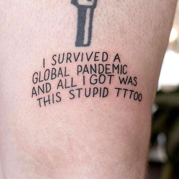 Quarantine Tattoos (30 pics)