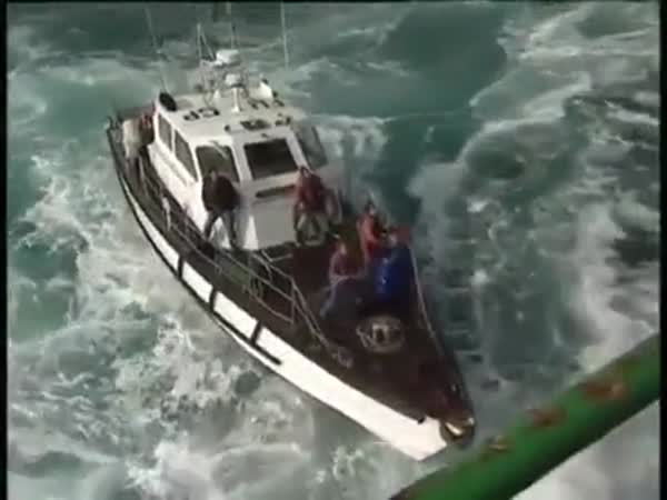 Lighthouse Crew Change