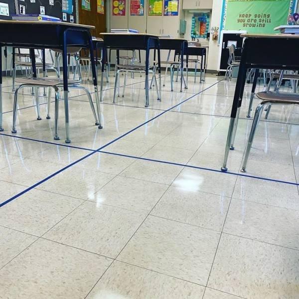 Social Distancing Ideas From Teachers (31 pics)