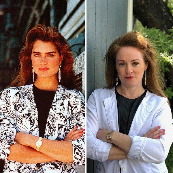 '80s Photos Recreations (20 pics)