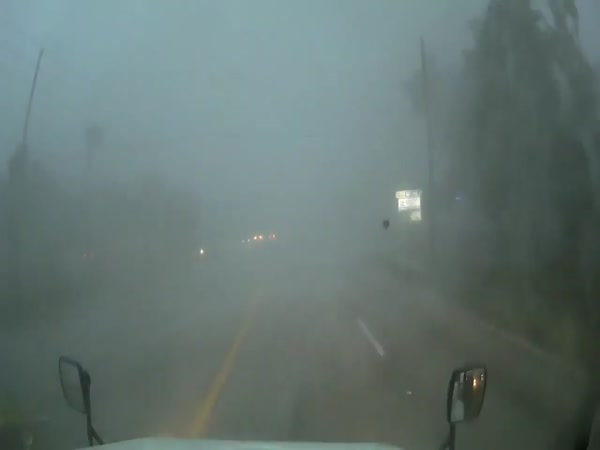 Driving Through The Tornado