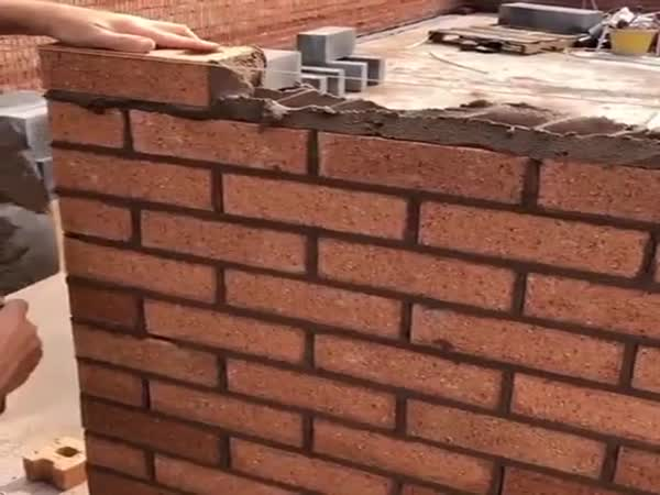 Satisfying Brick Laying