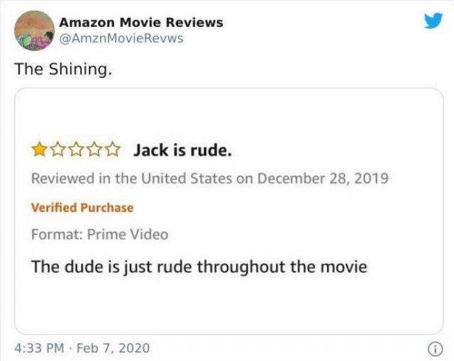 Amazon Movie Reviews (30 pics)