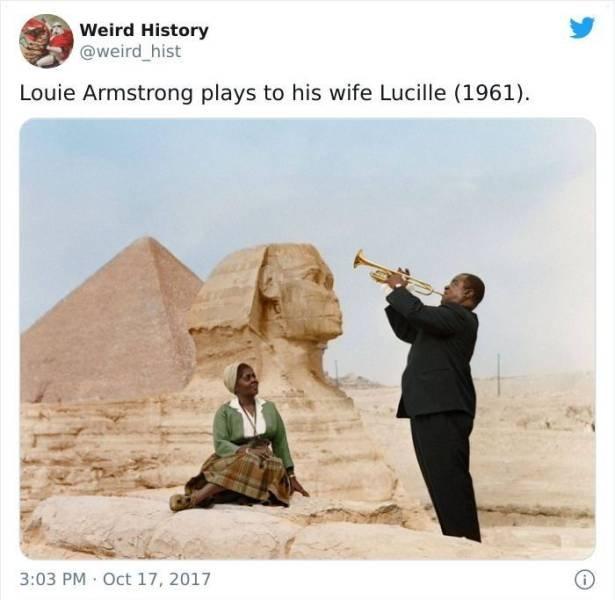 Weird History Tweets (50 pics)