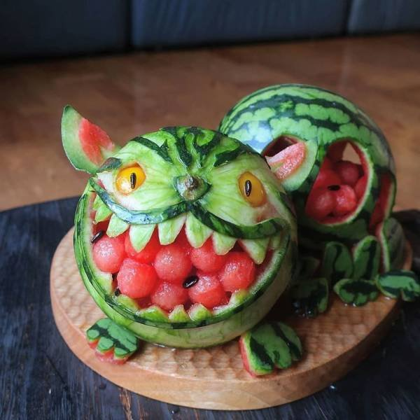 This Japanese Mom Creates Pure Food Art For Her Children (30 pics)