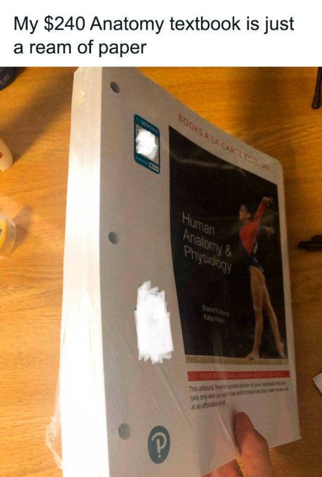 US Students Complain About High Prices For Their Textbooks (30 pics)