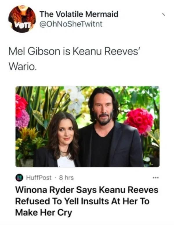 Keanu Reeves Memes (30 pics)