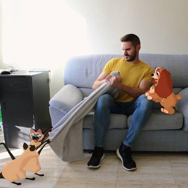 Samuel And His Disney Friends (48 pics)