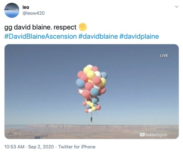 #DavidBlaineAscension: Internet Reactions (19 pics)