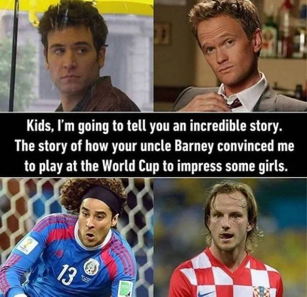 'How I Met Your Mother' Memes (26 pics)