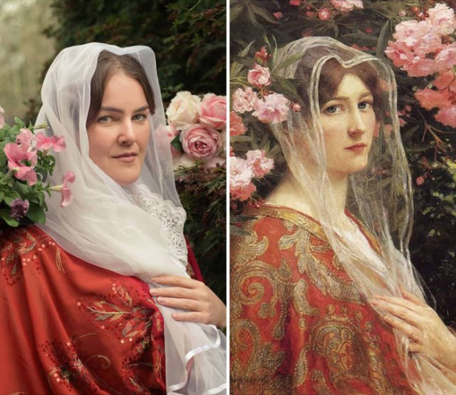 Everyday Classic Painting Recreations (49 pics)