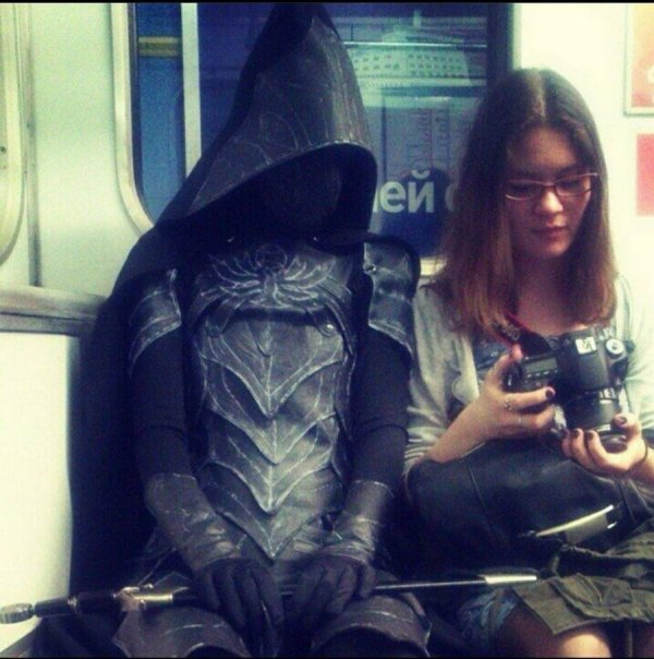 Weird Subway Passengers (37 pics)