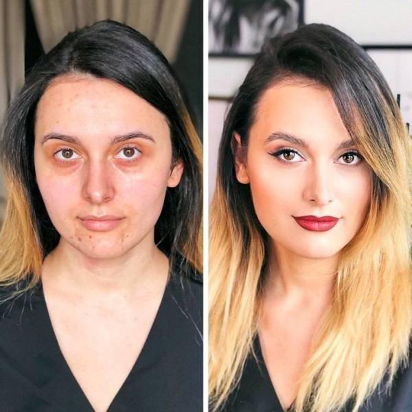 Great Make-Up Transformations (16 pics)