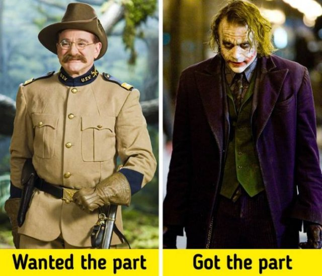 Cult Roles That Could Have Played By Other Actors (18 pics)