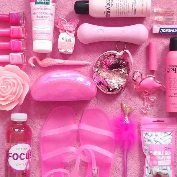 This 32-Year-Old Swiss Teacher Is Obsessed With Pink Color (21 pics)
