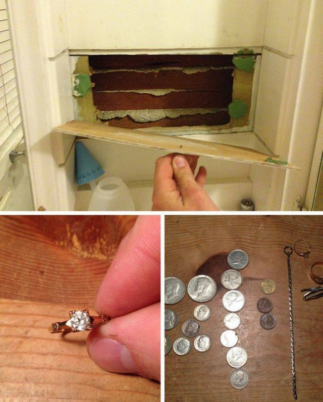 Interesting Findings In New Homes (18 pics)