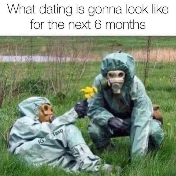 Quarantine Dating Memes (28 pics)