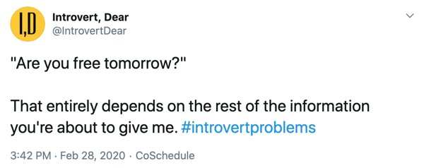 Introvert Tweets (16 pics)