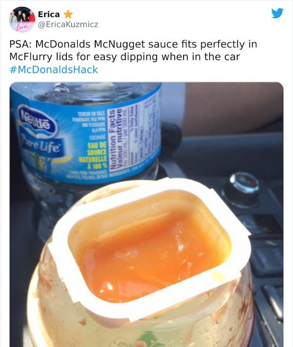 Great McDonald's Hacks (21 pics)