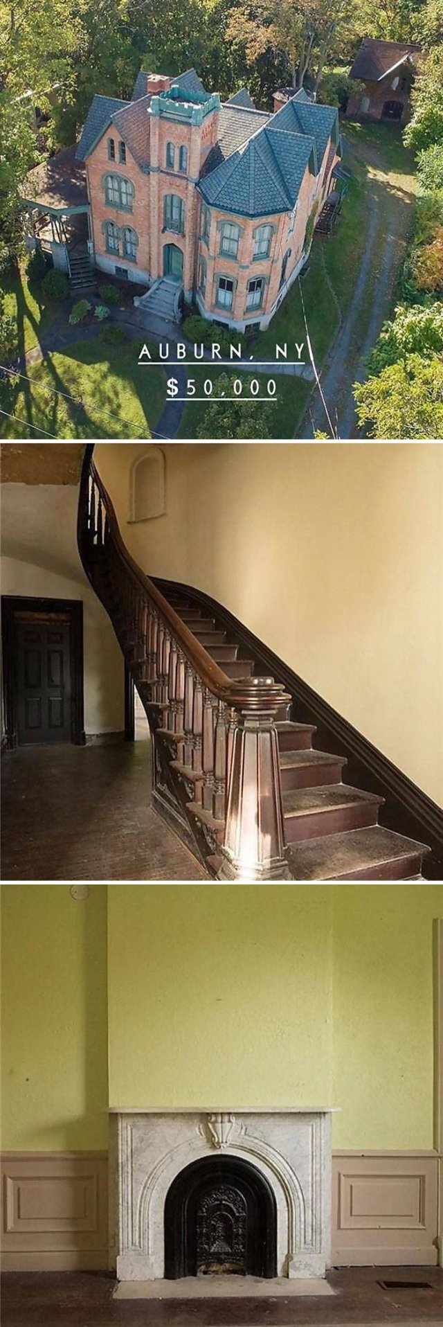 Cheap Old Houses (30 pics)