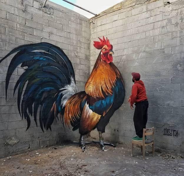 3D-Graffiti By Sergio Odeith (30 pics)