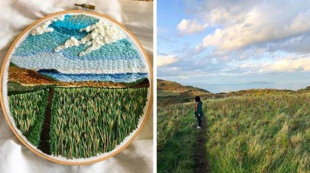 Beautiful Embroidery (20 pics)