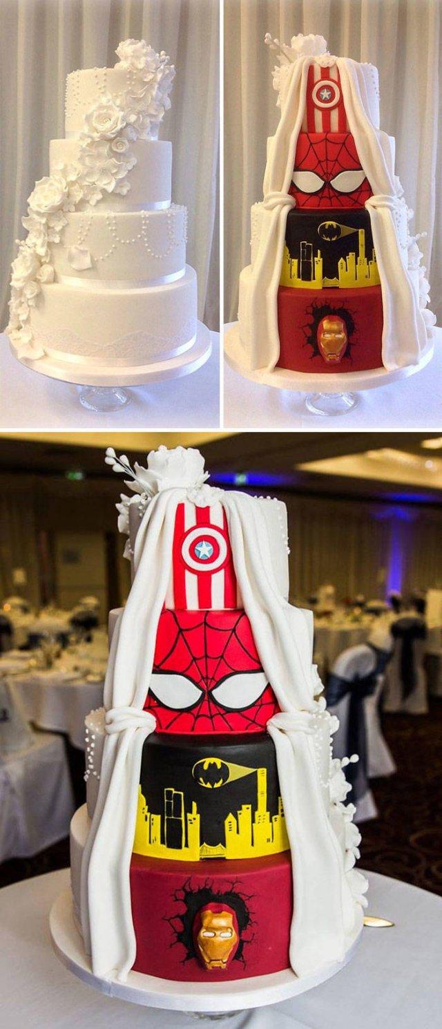 Amazing Wedding Cakes (45 pics)
