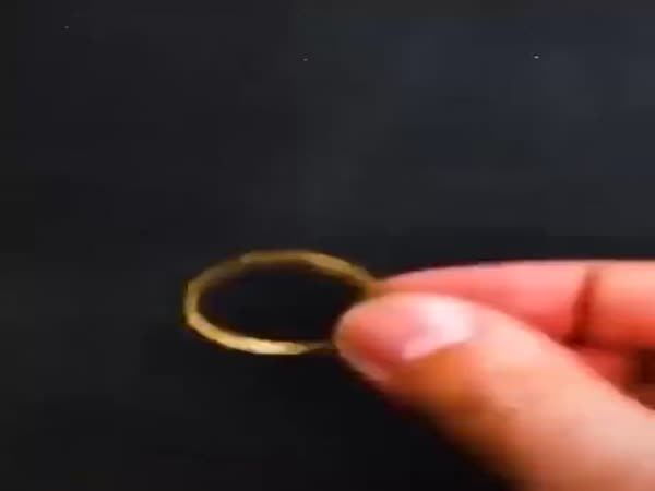 Turned A Coin Into Beautiful Ring