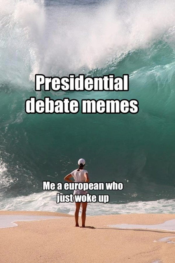 Presidential Debate Memes (40 pics)