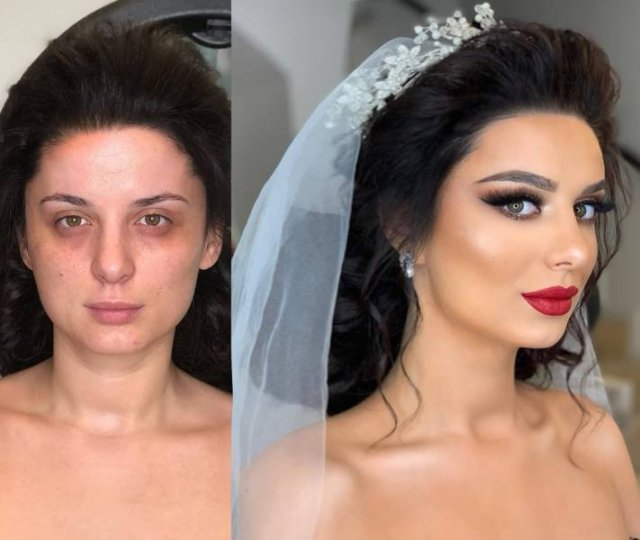 Makeup Transformations (24 pics)