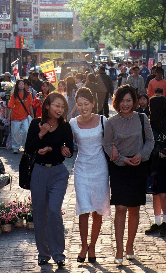 Korean Street Style In 90's (27 pics)