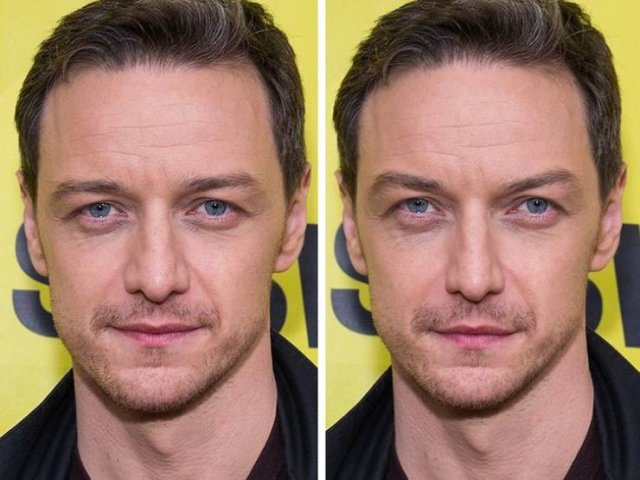 Celebrities Faces Changed To Fit The Golden Ratio Standard (20 pics)
