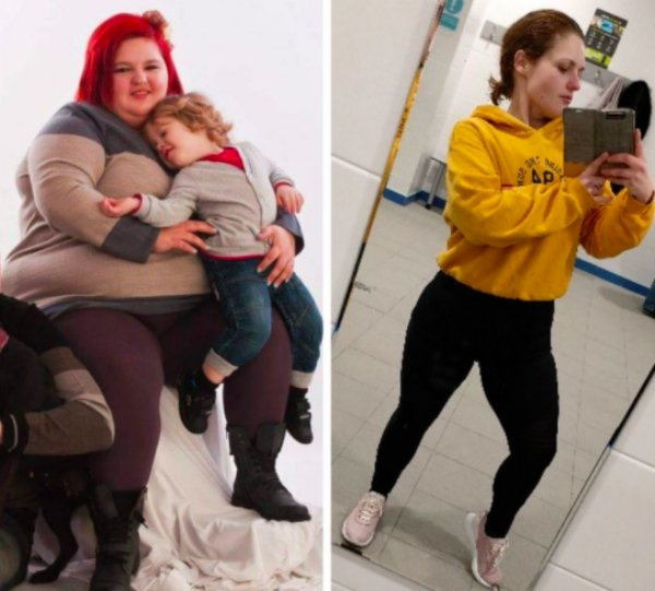 Women Show Off Their Transformations (31 pics)