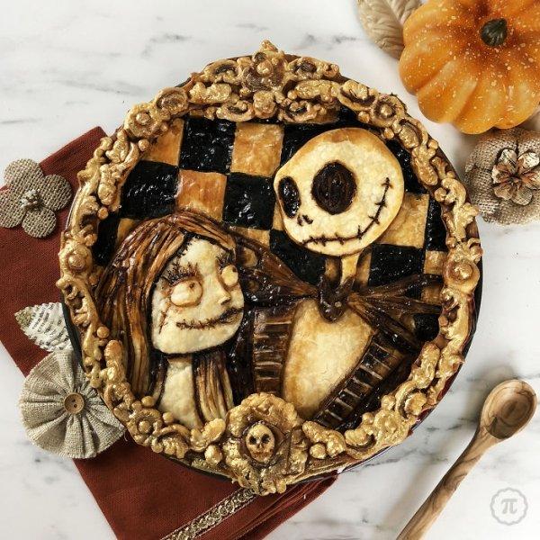 Amazing Halloween Pies (24 pics)
