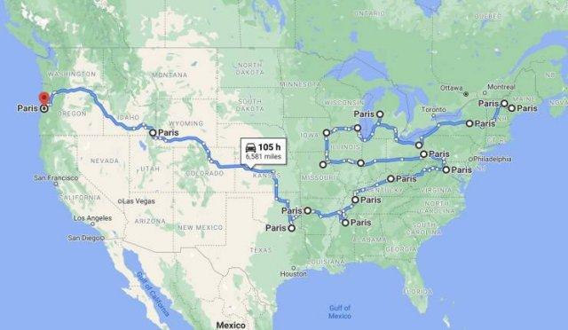 Interesting Maps (21 pics)