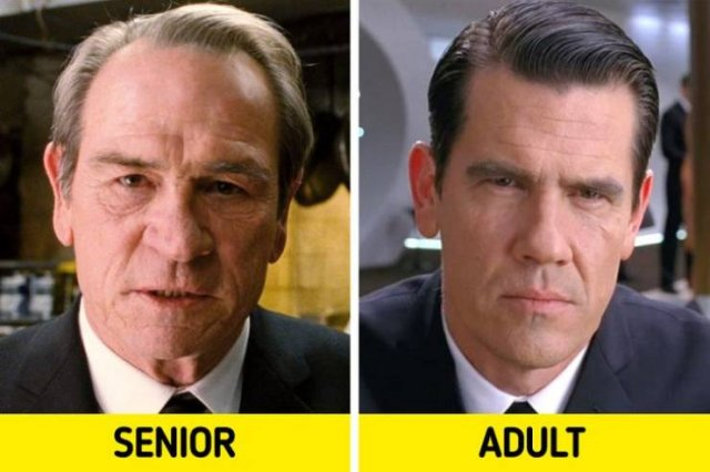 Movie Characters And Their Younger Versions (15 pics)