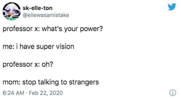 'What's Your Superpower?' Tweets (16 pics)