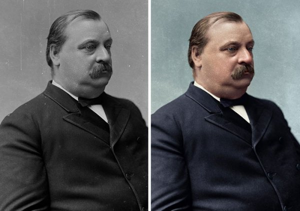 This Artists Restores And Colorizes Photos Of US Presidents (24 pics)