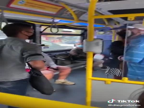 Spitting Incident On Bus