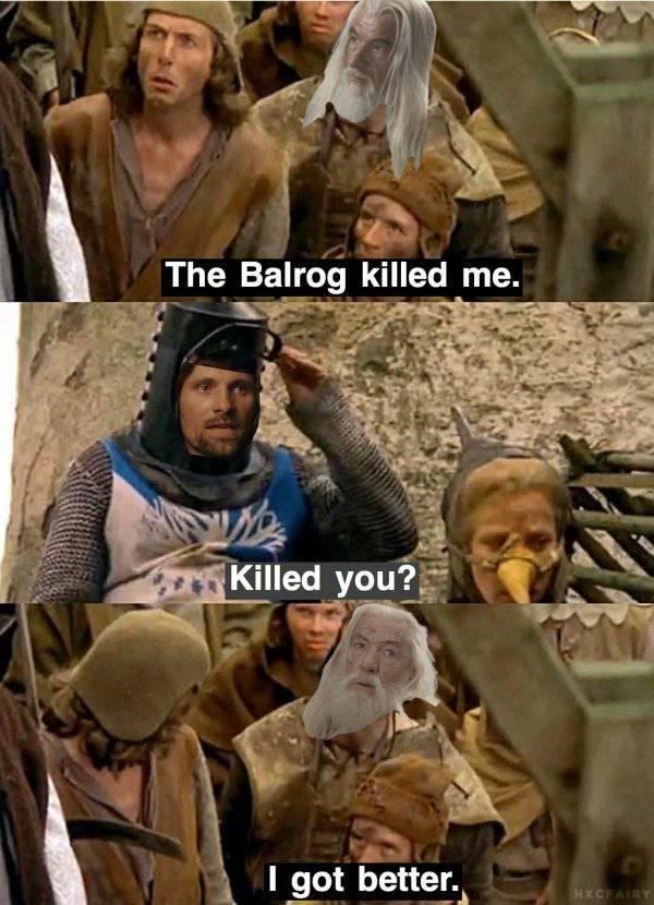LOTR Memes (27 pics)