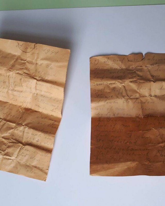 1941 Note Was Found In The Ceiling Of St. James Church In Antwerp (21 pics)