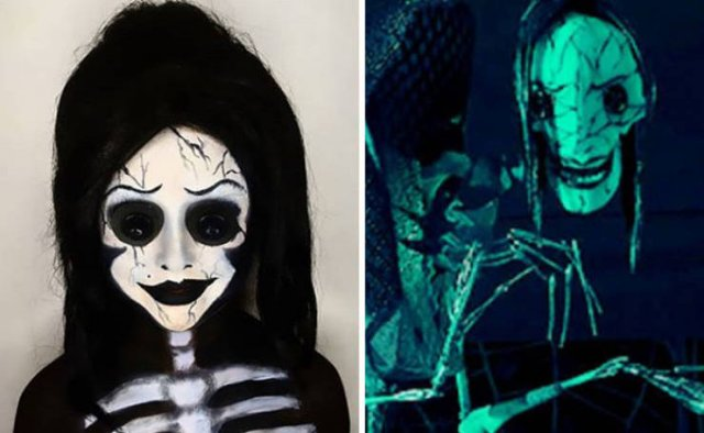 This Mom Creates Fantastic Halloween Makeup For Her Daughters (28 pics)