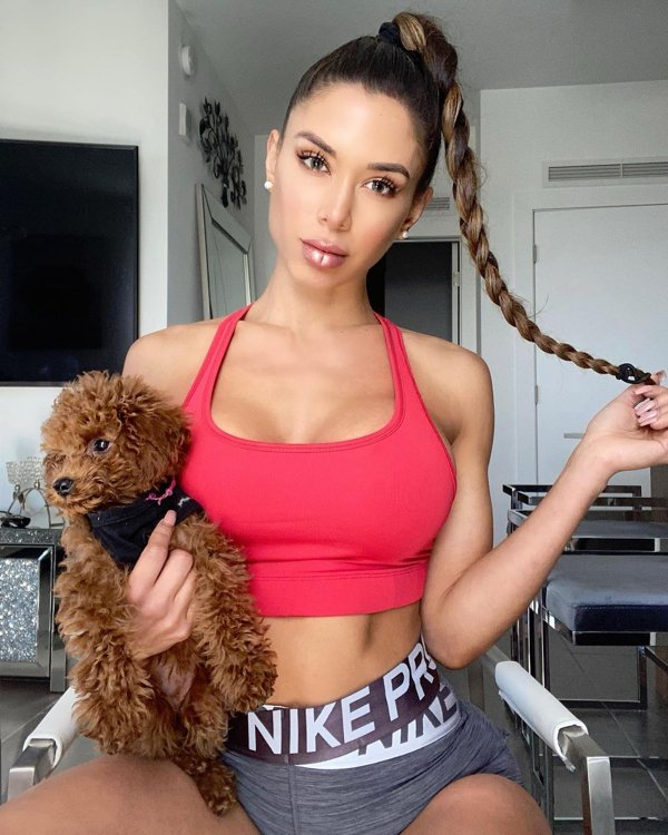 Girls With Puppies (38 pics)