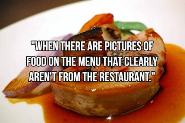 Restaurant Red Flags (16 pics)